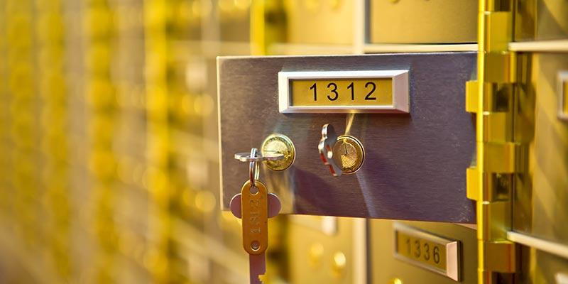 Safety Deposit Boxes Edinburgh